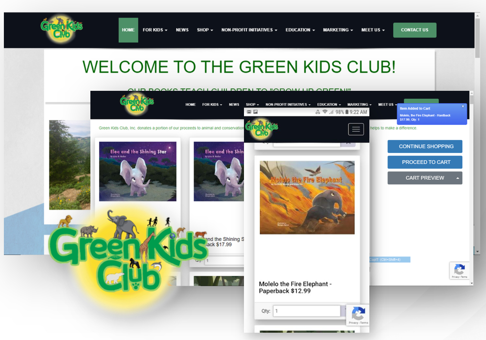 Green Kids Club ApogeeSITE Case Study